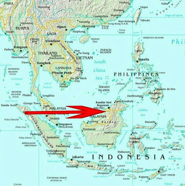 Green Heart Of Borneo BRUNEI Josies Travel Orange Blog - Where is brunei